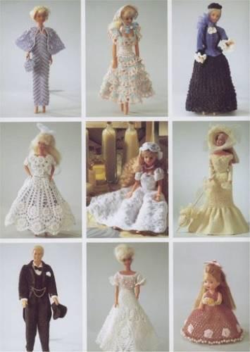 Перчаточные куклы крючком схема фото 343